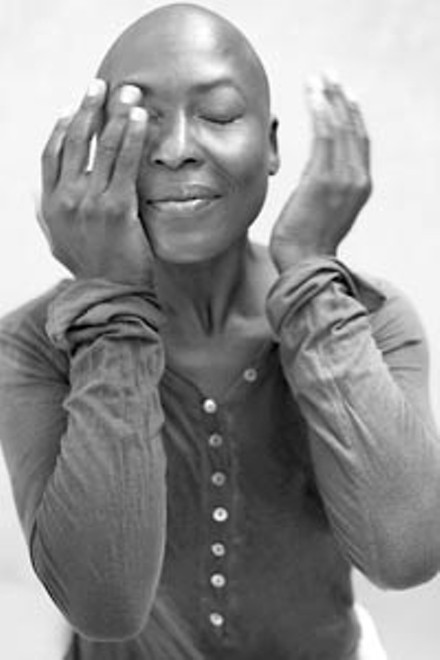 Dancer and choreographer Nora Chipaumire. - PHOTO SUPPLIED