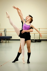 Dancers rehearse Romeo and Juliet