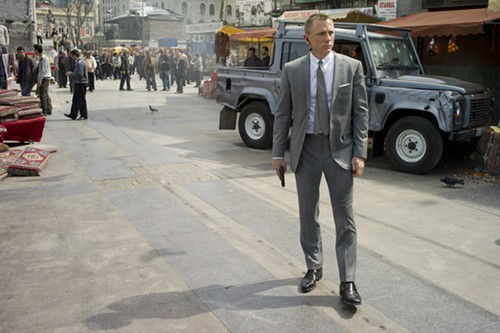 Daniel Craig, in Skyfall