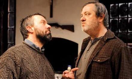David Cabot (left) and Philip Winters in the REP's The Lonesome West - PHOTO COURTESY OF DREW YENCHAK