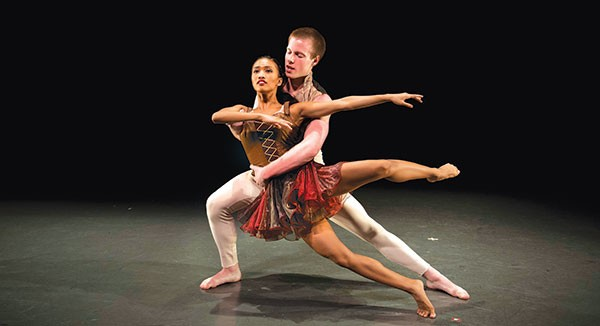 """David Parsons' """"Wolfgang,"""" at Point Park's Conservatory Dance Company"""