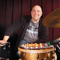 David Throckmorton holds down the beat as one of Pittsburgh's great drummers