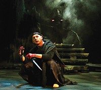 David Whalen and Gayle Pazerski in Macbeth, at PICT Classic Theatre