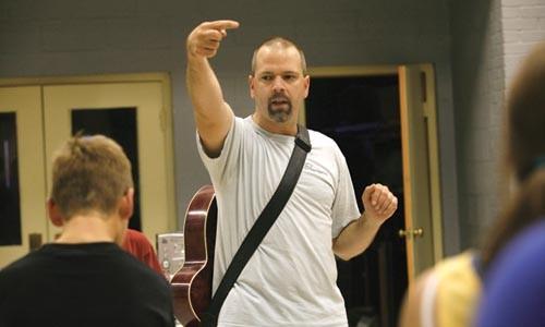 Dean Poloka leads a Slavjane dance class (below) - HEATHER MULL