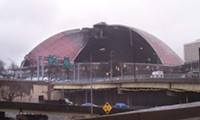 Demolition of the Civic Arena - PHOTO BY LAUREN DALEY