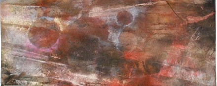 Detail from another of Richmond's untitled paintings