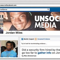Did a security firm hired by the city go too far to gather info on Jordan Miles?