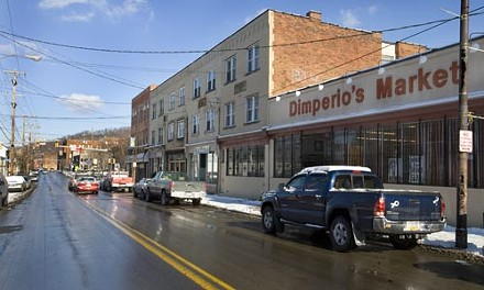Dimperio's Market, the last grocery store in Hazelwood, is shutting its doors. - HEATHER MULL