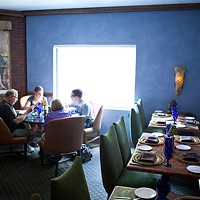 Lucca Dining room Photo by Heather Mull