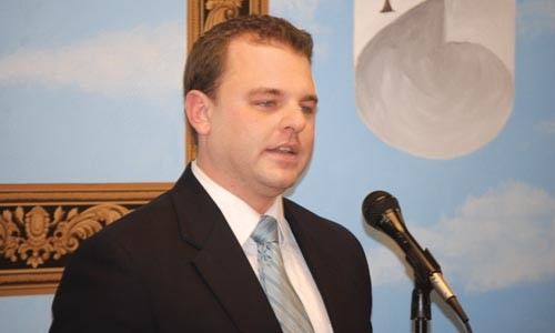 District 2 Pittsburgh City Council candidate Brendan Schubert - CHARLIE DEITCH
