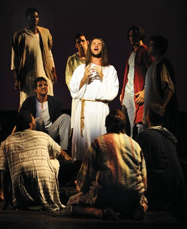 Doug Kreeger in Jesus Christ Superstar at Pittsburgh CLO. - PHOTO COURTESY OF JEANINE LEECH