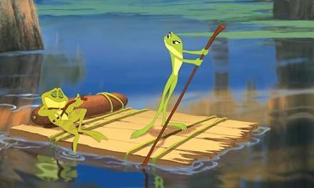 Down on the bayou: Naveen and Tiana