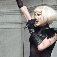 Dragged into Debate: Reality-TV fame puts spotlight on Sharon Needles' controversial act