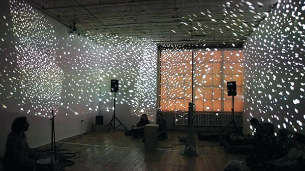 Drums & Drones, a touring sound-and-video collaboration