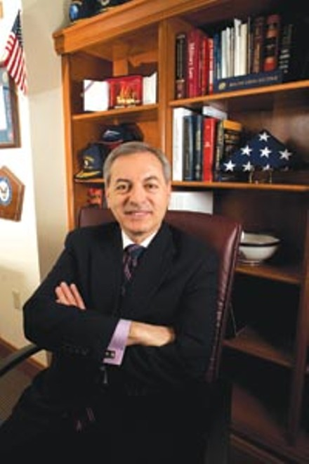 Duquesne's former law-school dean Don Guter - RENEE ROSENSTEEL
