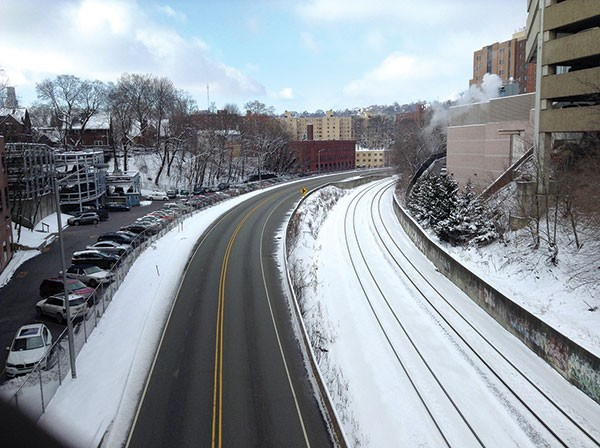 East busway Pittsburgh