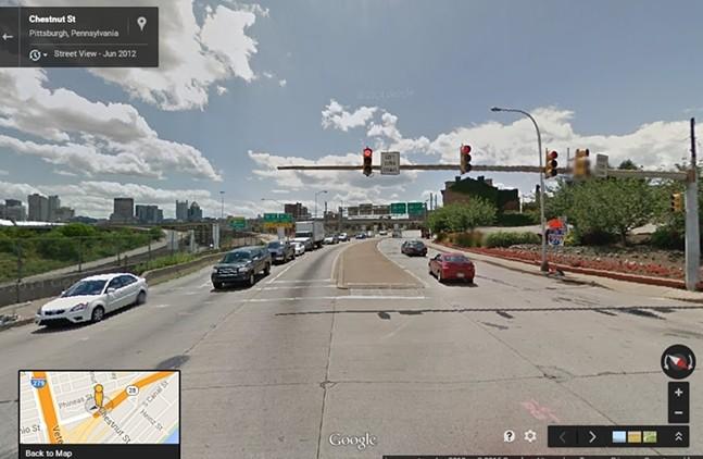 East Ohio Street corridor - GOOGLE MAPS