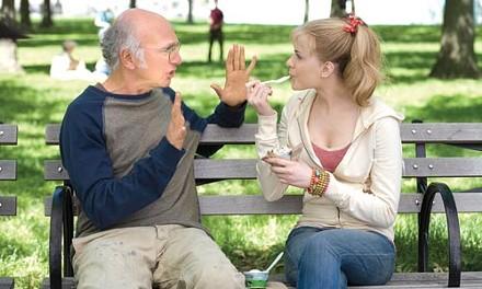 Eat more ice cream: Larry David counsels Evan Rachel Wood