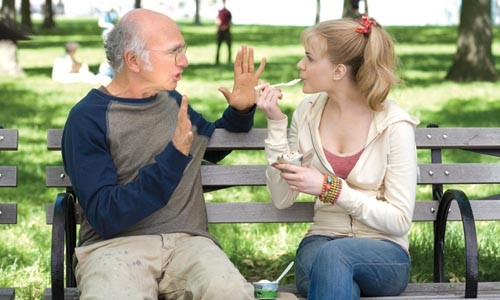 Eat more ice cream: Larry David counsels Evan Rachel Wood