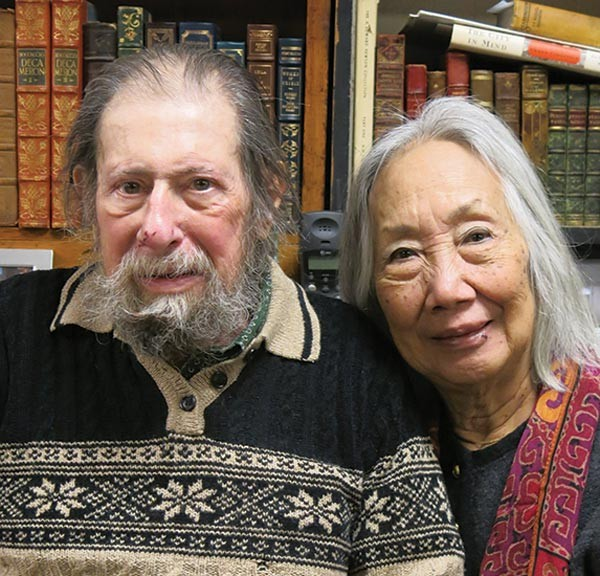 Ed and Chong Ae Gelblum at City Books