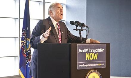 Ed Rendell has been advocating for transit funding - JOHN ALTDORFER