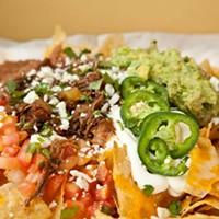 El Burro Comedor El Burro nachos Photo by Heather Mull