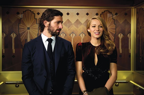 Elevator or time machine? Michiel Huisman and Blake Lively