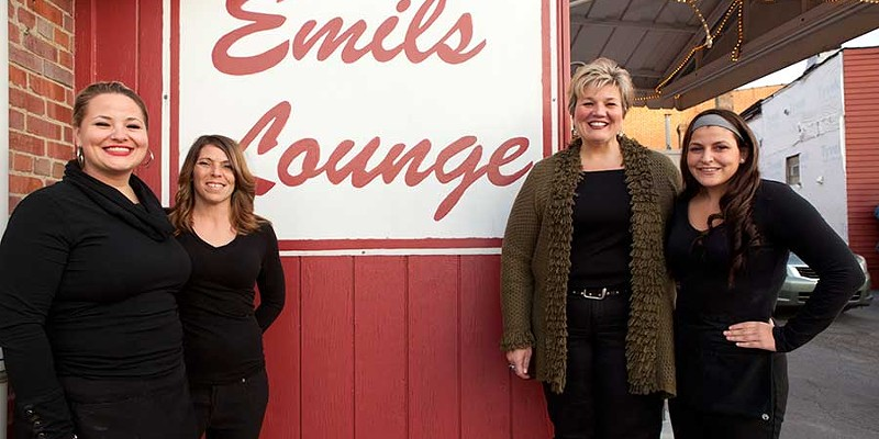 Emil's Emil's waitstaff and owner Photo by Heather Mull