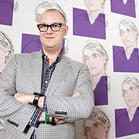 Eric Shiner: backed by Andy Warhol