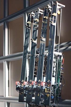 """Eric Singer's """"Guitarbot II."""""""