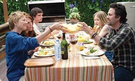 Family time: From left, Annette Bening, Julianne Moore, Josh Hutcherson, Mia Wasikowska and Mark Ruffalo
