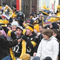 Fans today think Steelers victory parades are supposed to happen every two years.
