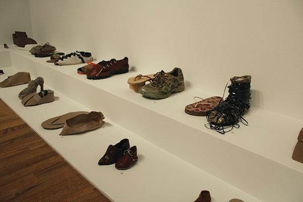 "Feat: Lenka Clayton's ""One Brown Shoe"" (detail)"