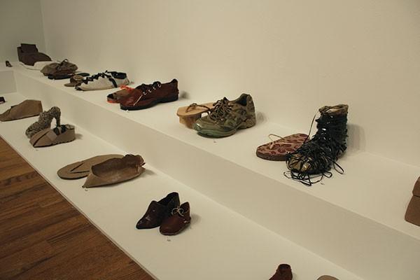 "Feat: Lenka Clayton's ""One Brown Shoe"" (detail)"