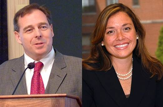 Mark Patrick Flaherty and Allegheny County Controller Chelsa Wagner
