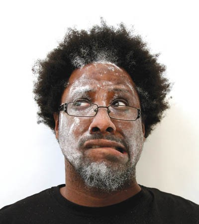 Flour power: W. Kamua Bell. Photo courtesy of Beth Allen.