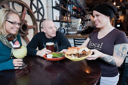 Food and drinks, close to home at Loca - PHOTO BY RENEE ROSENSTEEL