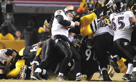 COURTESY OF MIKE FABUS, PITTSBURGH STEELERS