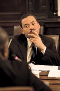 Former Pittsburgh school-board member Randall Taylor - HEATHER MULL