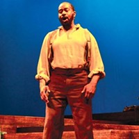 Foster care: Kevin Brown (foreground) and Stephanie Riso star in PICT and Opera Theater's <i>Beautiful Dreamers</i>.
