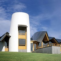 Sufficiently quaint, quintessentially Gehry-esque: Frank Gehry's Maggie's Dundee