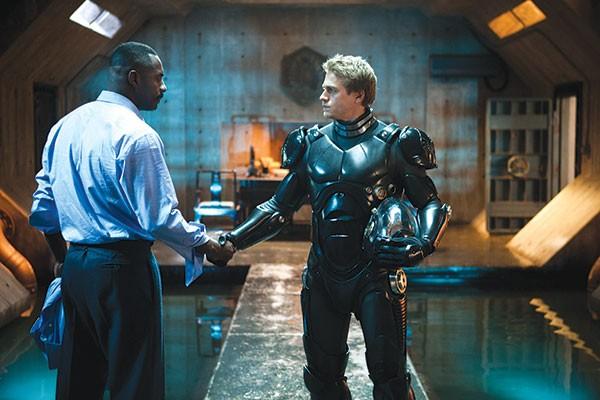 Freak-fighting men: Idris Elba and Charlie Hunna