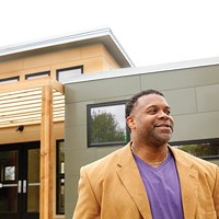 Fred Brown of the Kingsley Association, a nationally known Transition Town trainer, is helping push forward that and other green initiatives in Larimer.