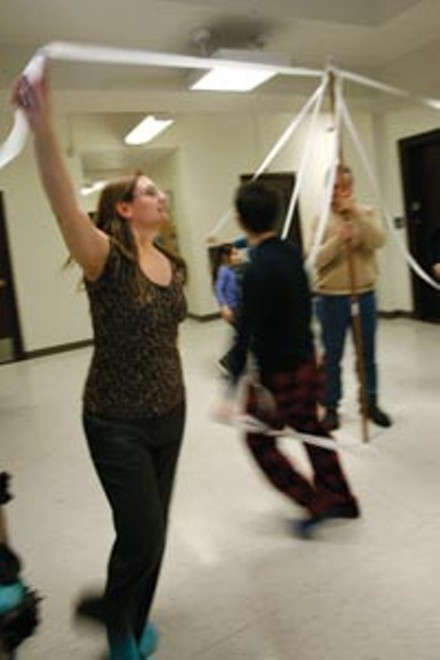 """""""Friendship, conversation, and exercise, too"""": Copihue rehearses new dances for its La Tirana performance - HEATHER MULL"""