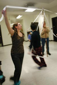 """Friendship, conversation, and exercise, too"": Copihue rehearses new dances for its La Tirana performance - HEATHER MULL"