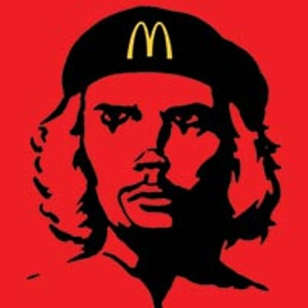 From each according to his advertising budget: The Yes Men's McMascot McChe Guevara. - IMAGE COURTESY OF THE YES MEN.