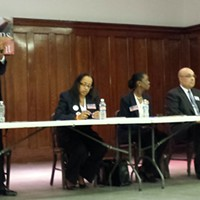 District 9 City Council candidate Judith Ginyard stands out at forum
