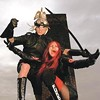 Germans from outer space Hanzel und Gretyl land at Mr. Small's