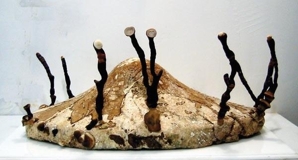 """Fungus humongous: Philip Ross' """"Pure Culture: Ganoderma lucidum fungus"""" (2000)"""