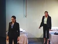 Gayle Pazerski, Lissa Brennan, in Dog & Pony's The Dumb Waiter